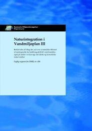 Naturintegration i Vandmiljøplan III