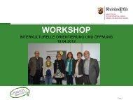Interkulturelle Orientierung und Öffnung - Ministerium für Integration ...