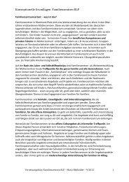 Konzeptionelle Grundlagen - Ministerium für Integration, Familie ...