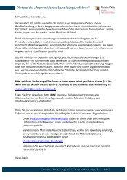 Entwurf Bewerbungsformular - Ministerium für Integration, Familie ...