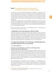1. Zuwanderungsbericht Teil C - Ministerium für Integration, Familie ...