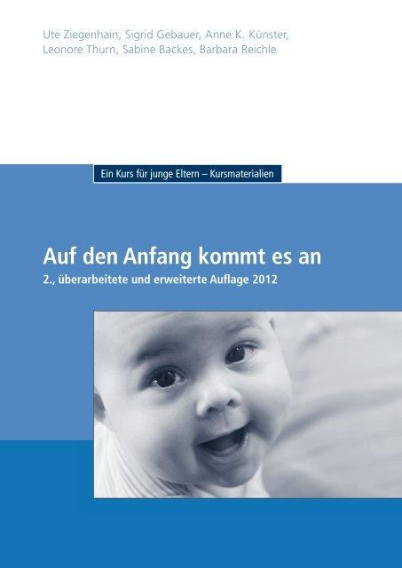 Anfang kommt - Ministerium für Integration, Familie, Kinder, Jugend ...