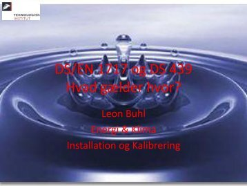 Leon Buhl, TI, Installation og Kalibrering 1 (2.2 MB)