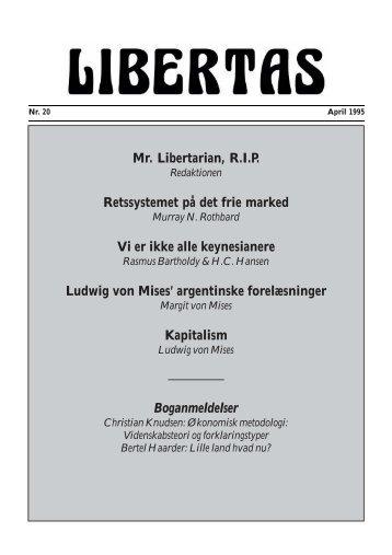 Ludwig von Mises - Libertas