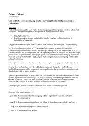 Notat om jordkøb, jordfordeling og aftale om 20 ... - Naturstyrelsen