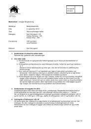 Referat af bestyrelsesmøde 6. sep 2012 - Ansager Boligforening