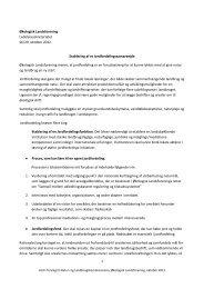 Etablering af et Jordfordelingssamarbejde - Økologisk Landsforening