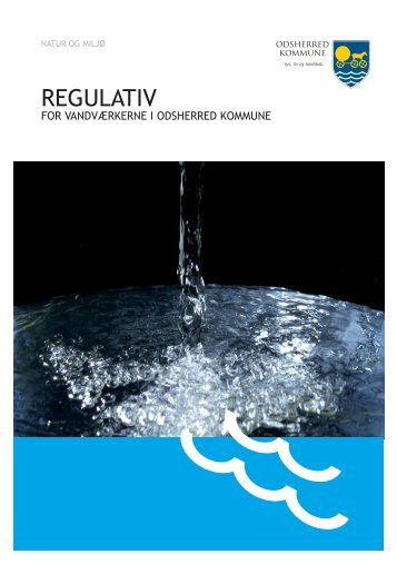 Regulativ for vandværkerne i Odsherred Kommune (PDF 169 KB)