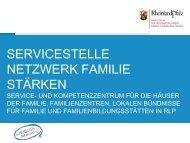 servicestelle netzwerk familie stärken - Ministerium für Integration ...