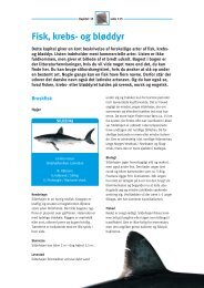 Kap. 15 - Fisk, krebs- og bløddyr - FiskerForum.com