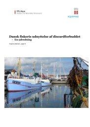 The Discard report from DTU Aqua and Aquamind