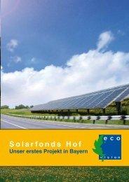 Solarfonds Hof