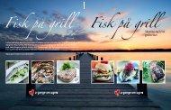 Download hæftet Fisk på grill i PDF-format klik her.