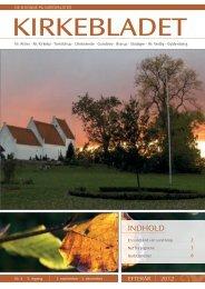 INDHOLD - Nørre Alslev og Nørre Kirkeby Pastorat