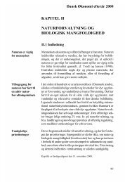 kapitel ii naturforvaltning og biologisk mangfoldighed