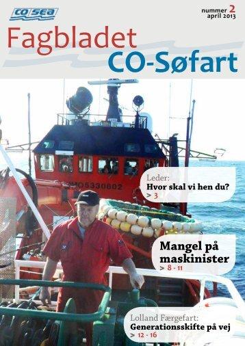 Mangel på maskinister - CO-SEA