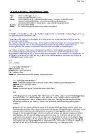 Göteborgs Katthjälp / Miranda Oude Tanke Sida 1 av 2 ... - iFokus