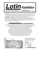 LotinKattfällor - iFokus