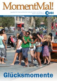 Zeitschrift MomentMal, Ausgabe 05/2010 - KUBI