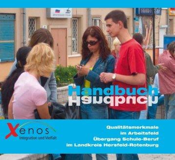 das neu erstellte XENOS- Handbuch - Jobcoach-hef-rof.de