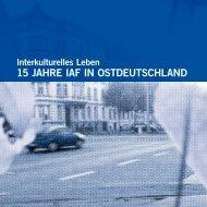 15 jahre iaf in ostdeutschland - Verband binationaler Familien und ...