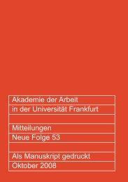 Mitteilungen 2008 - Migration-online