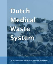 The most cost effective solution for the treatment of Medical waste