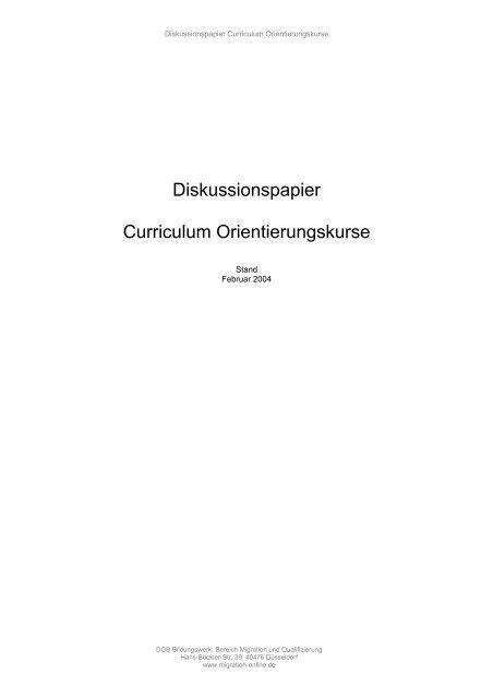 Download Langfassung - Migration-online