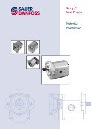 Group 2 Gear Pumps Technical Information - iFokus