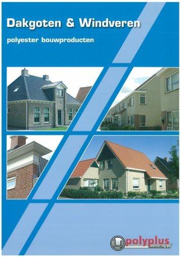 "Page 1 Dakgoten 8 Windverej polyester bouwproducten I ""w e Page ..."