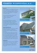 "Page 1 Dakgoten 8 Windverej polyester bouwproducten I ""w e Page ... - Page 2"