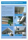 "Page 1 Dakgoten 8 Windverej polyester bouwproducten I ""w e Page ... - Page 4"