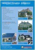 "Page 1 Dakgoten 8 Windverej polyester bouwproducten I ""w e Page ... - Page 6"