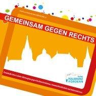 GEMEINSAM GEGEN RECHTS - Lokaler Aktionsplan Aachen
