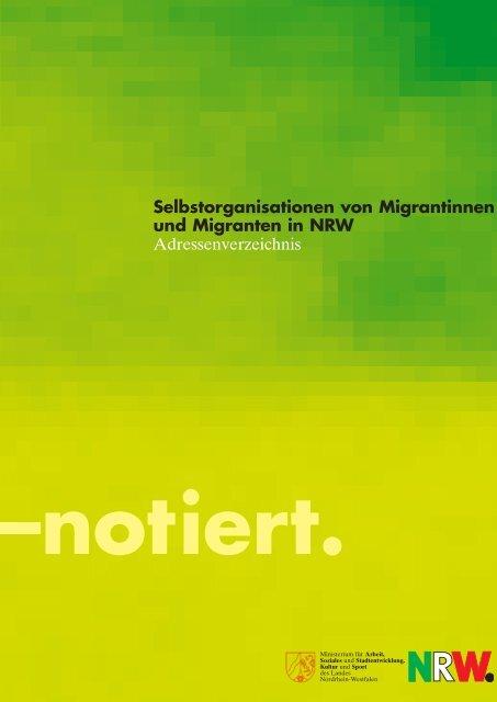 Selbstorganisationen von Migrantinnen und ... - Migration-online