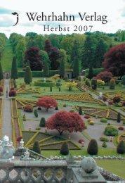 Herbstvorschau 2007 - Wehrhahn Verlag