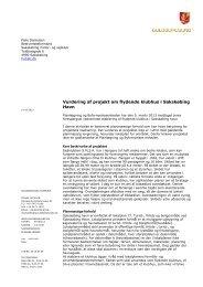 Vurdering af projektet - Guldborgsund Kommune