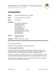 Beslutningsreferat 02-2009
