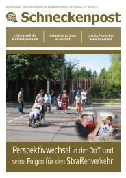 Schneckenpost 2009/4 - Diakonie am Thonberg