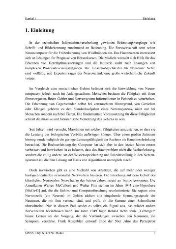 1. Einleitung - FG Mikroelektronik, TU Berlin