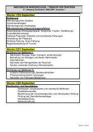 Woche 1 10 September Woche 2 17 September Woche 3 24 ...