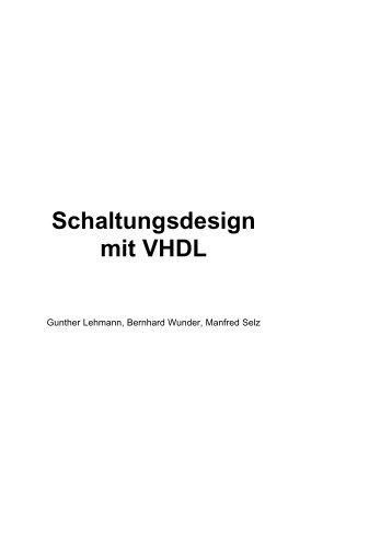 Schaltungsdesign mit VHDL