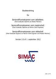 studieplan - Simac