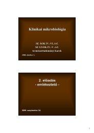 Klinikai mikrobiológia