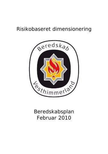 Risikobaseret dimensionering - Vesthimmerlands Kommune