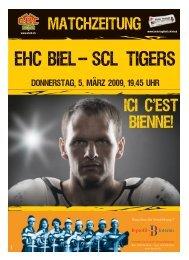 les matchs en direct! Jedes Spiel live! EHC Biel - Journal du Jura