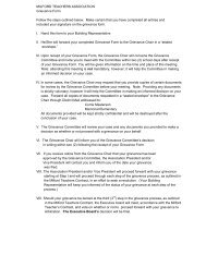 Grievance Procedures and Form - milford.massteach...