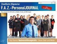 F.A.Z.-PersonalJOURNAL Ausgabe Juni 2013 (pdf 4,7 MB)