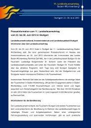 Pressemitteilung - Feuerwehr Stuttgart