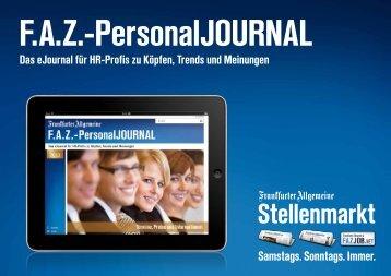 Das eJournal für HR-Profis zu Köpfen, Trends und Meinungen - FAZ